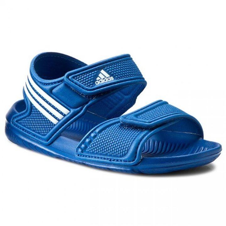 Adidas Akwaj 9 K kék fiú papucs