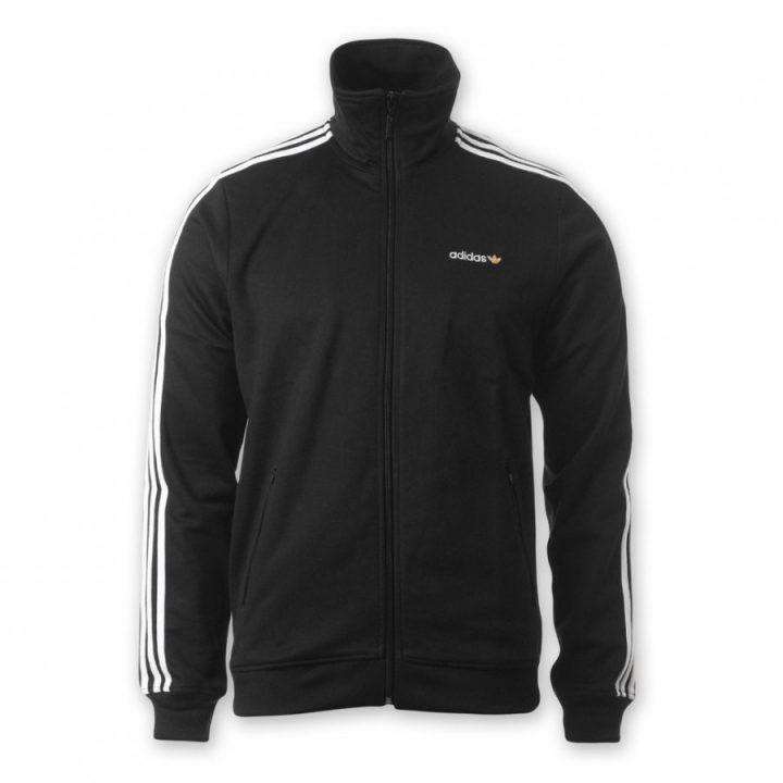 Adidas Beckenbauer fekete férfi pulóver