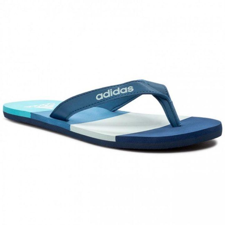Adidas Eezay Striped kék férfi papucs