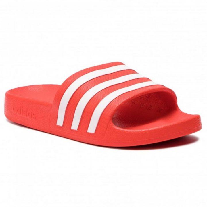 Adidas piros papucs