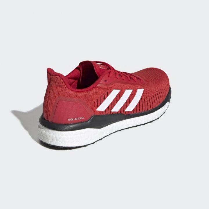 Adidas Solar Drive 19 piros férfi futócipő