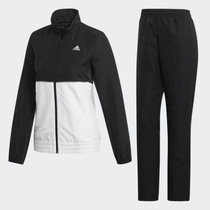 Adidas W Club TS fekete női melegítő együttes