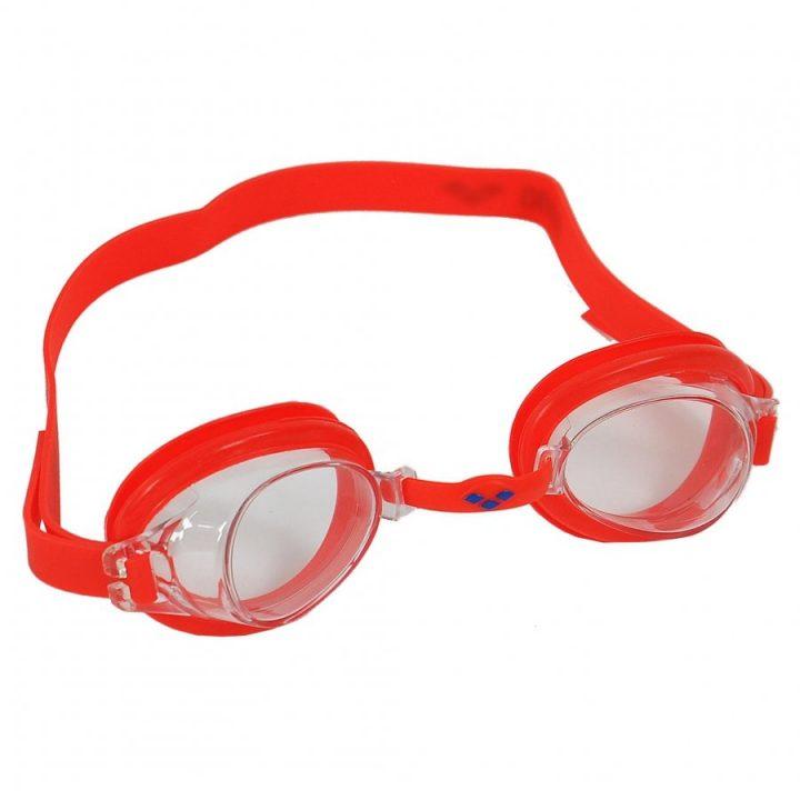 Arena piros fiú úszószemüveg