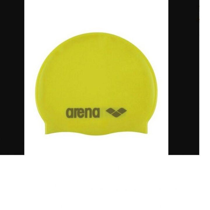 Arena sárga férfi úszósapka