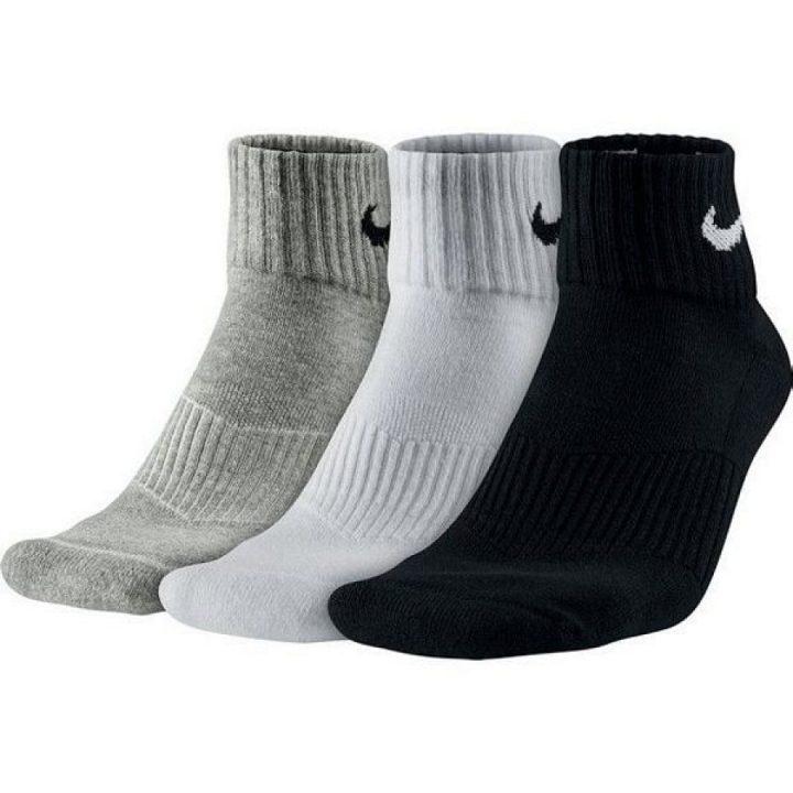 Nike 3 pár több színű férfi zokni