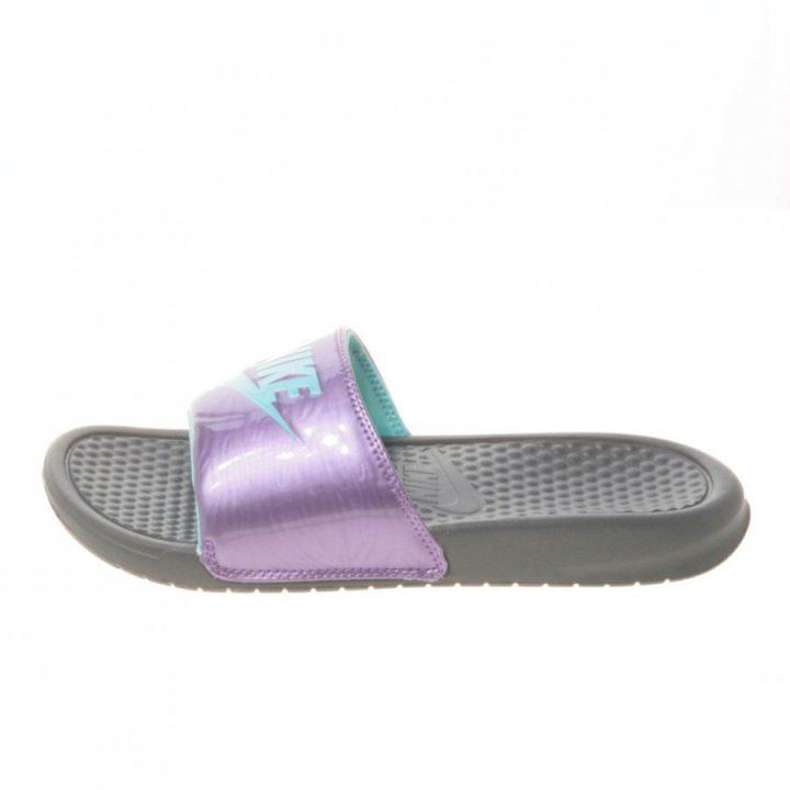 Nike Benassi JDI lila papucs