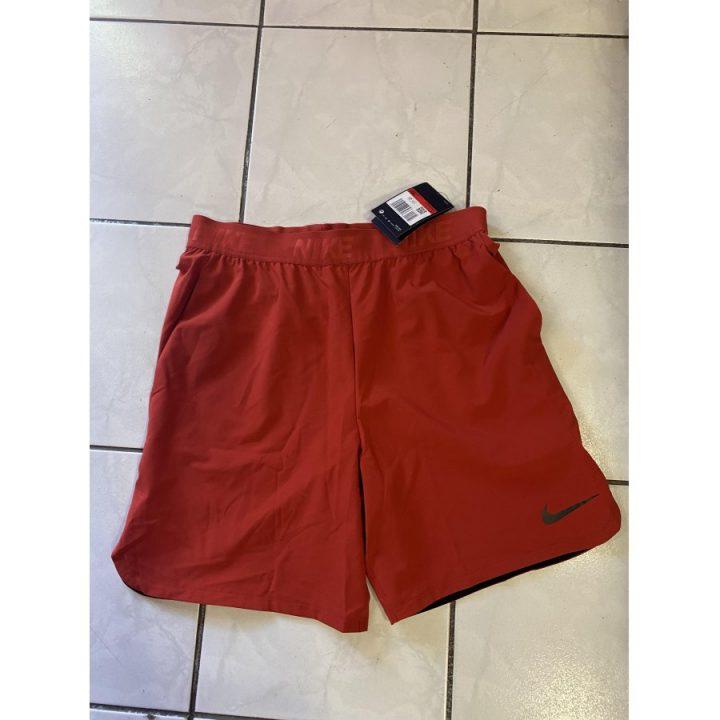 Nike Dr-fit piros férfi rövidnadrág