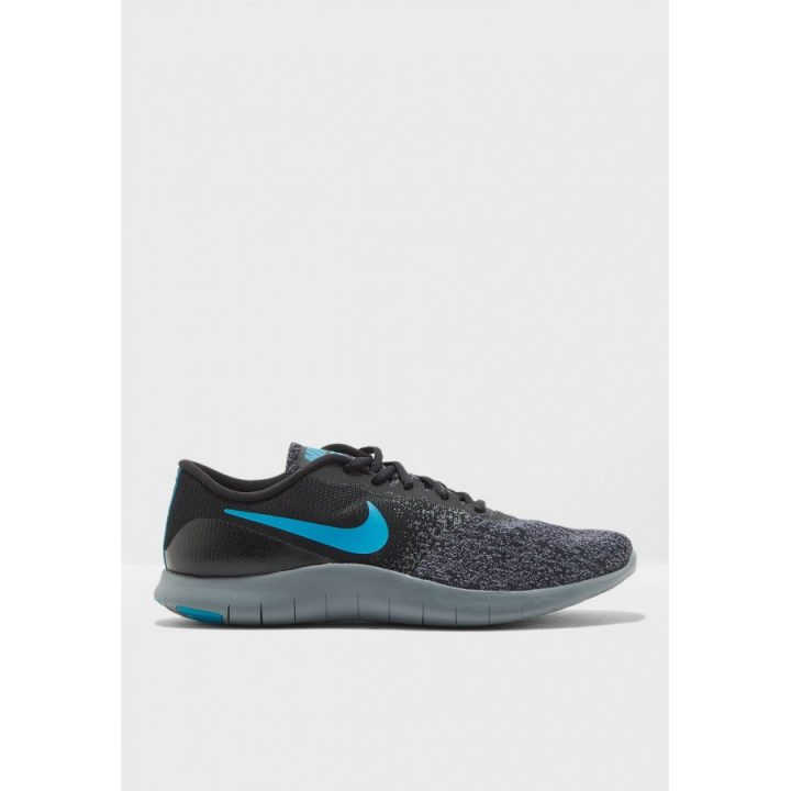 Nike Flex Contact fekete futócipő