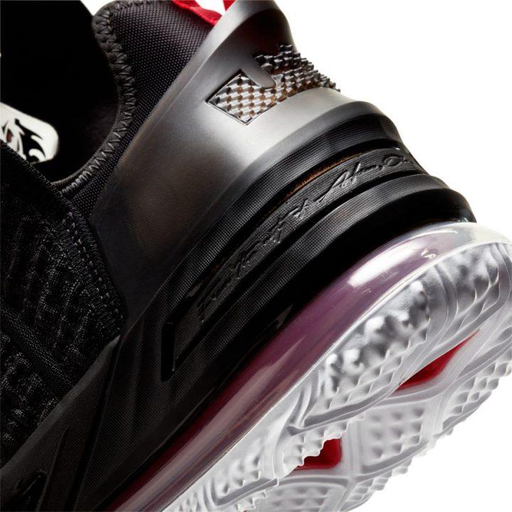 Nike Lebron XVIII fekete férfi kosárlabdacipő