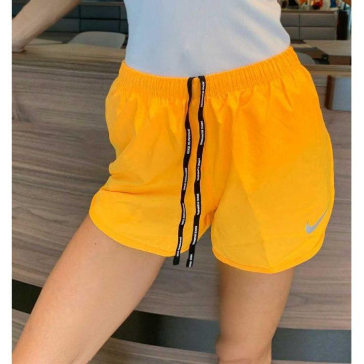 Nike narancs női rövidnadrág