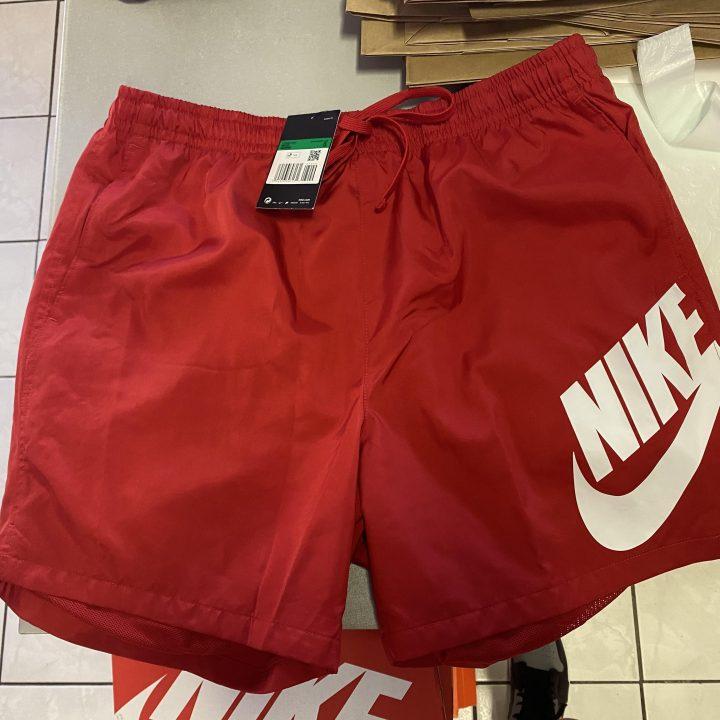 Nike NSW JDI piros férfi rövidnadrág