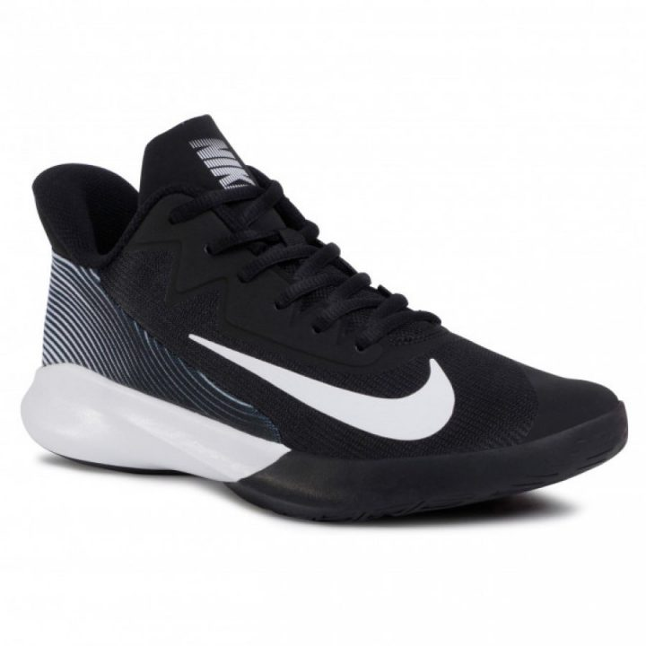 Nike Precision IV fekete férfi kosárlabdacipő