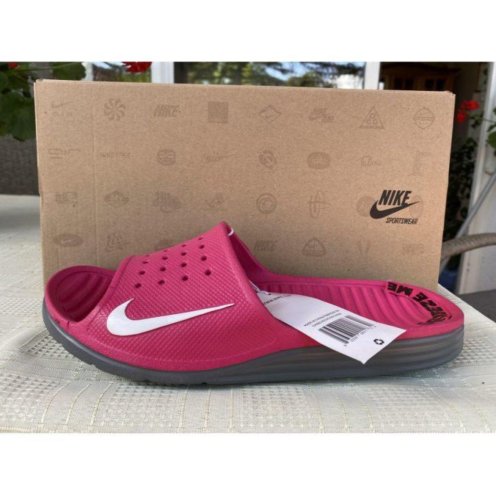 Nike Solarsoft Slide rózsaszín női papucs
