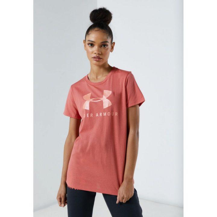 Under Armour Graphic rózsaszín női póló