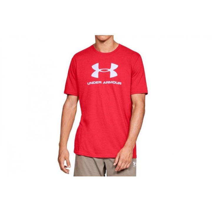 Under Armour Sportstyle piros férfi pulóver