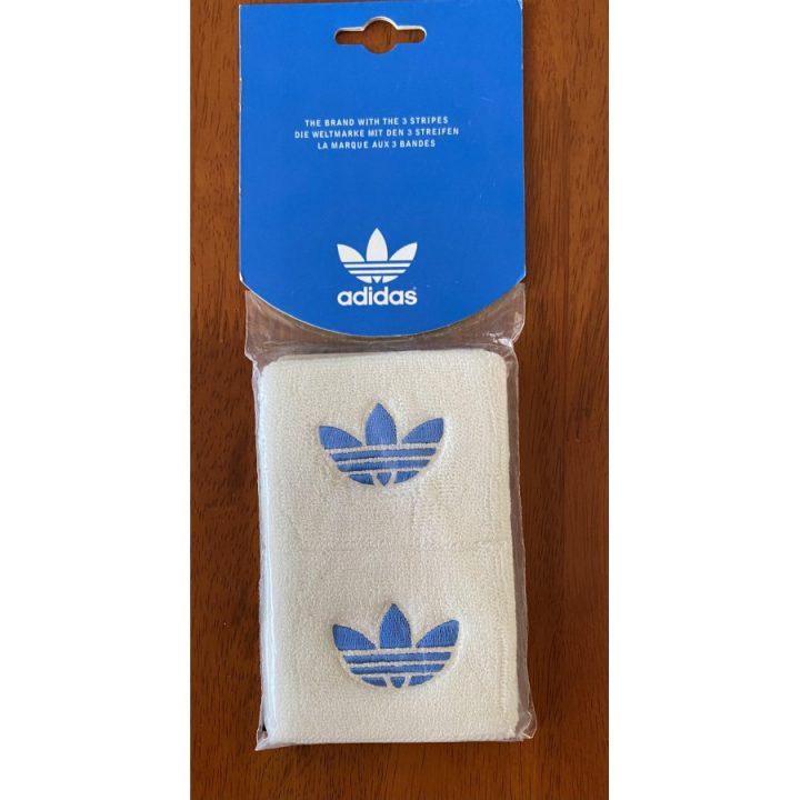 Adidas 2 db fehér csuklószorító