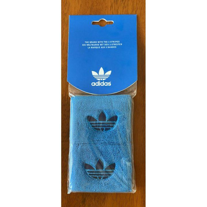Adidas 2 db kék csuklószorító