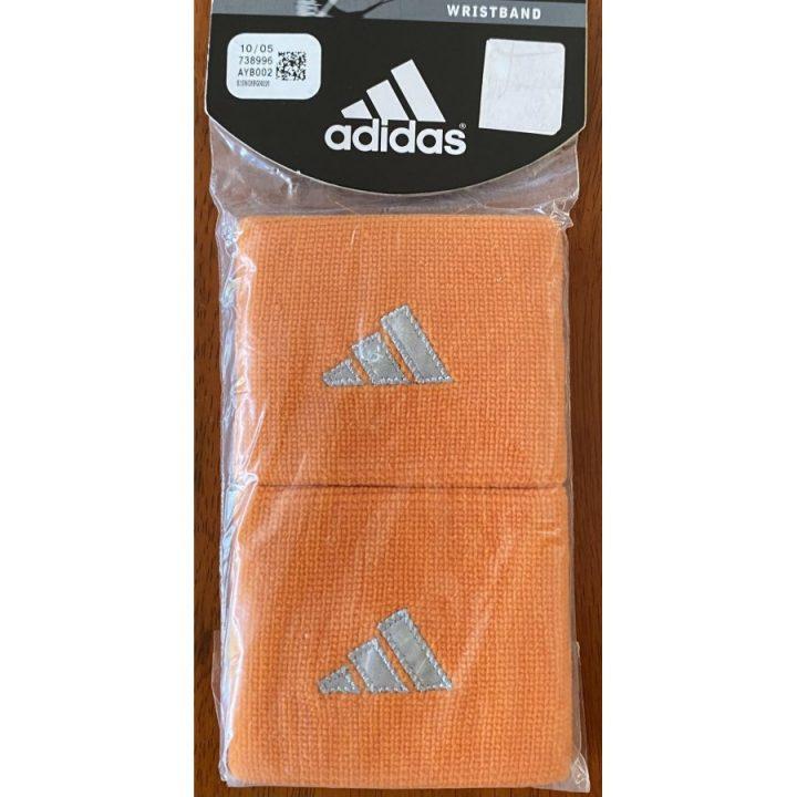 Adidas 2 db narancs csuklószorító