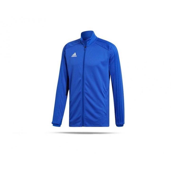 Adidas Condivo 18 kék férfi pulóver