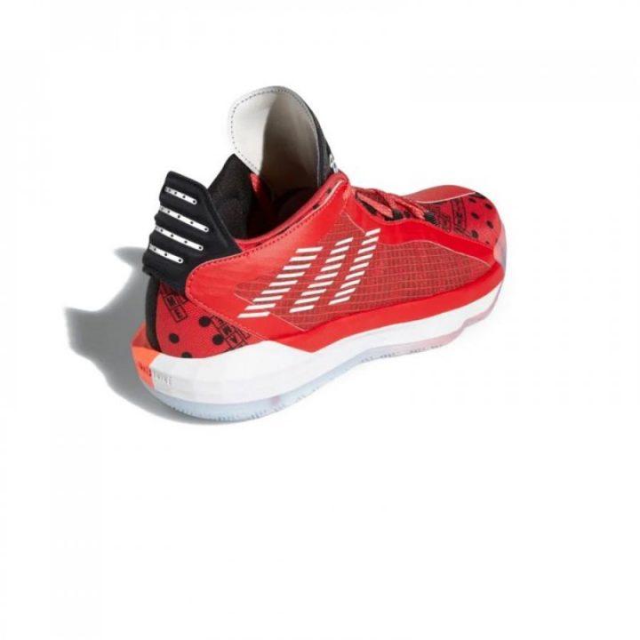 Adidas Dame 6 GCA piros férfi kosárlabdacipő
