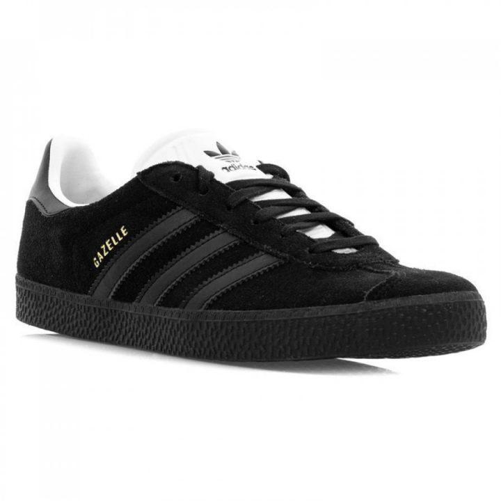 Adidas Gazelle J fekete utcai cipő