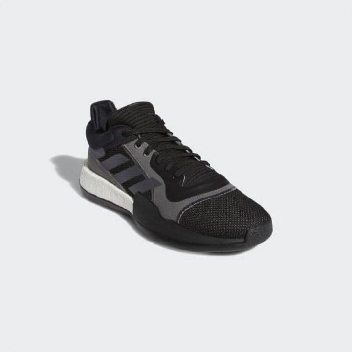 Adidas Marquee Boost Low fekete férfi kosárlabdacipő