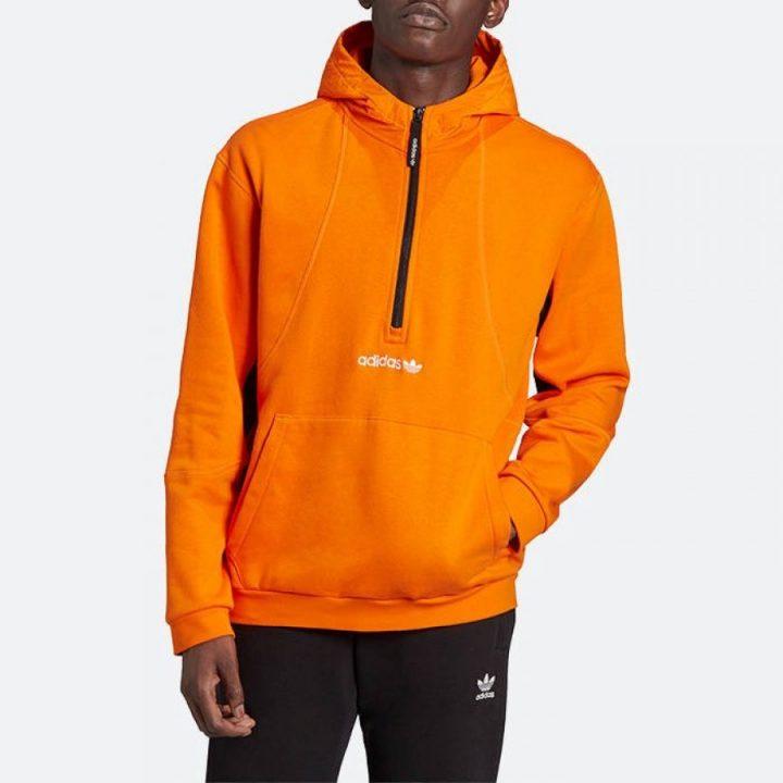 Adidas Originals Adventure narancs férfi pulóver