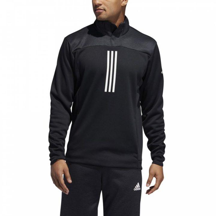 Adidas Response ź ZIP fekete férfi pulóver