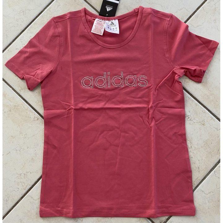 Adidas rózsaszín lány póló