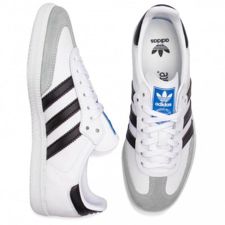 Adidas Samba OG J fehér utcai cipő