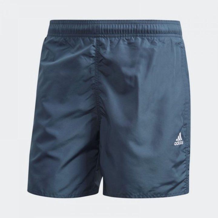 Adidas Solid CLX kék férfi rövidnadrág