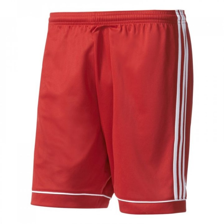 Adidas Squadra 17 piros férfi rövidnadrág