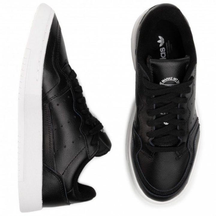 Adidas Supercourt J fekete utcai cipő