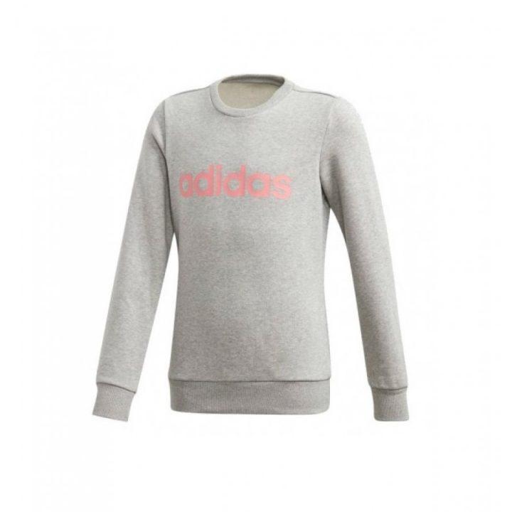 Adidas Sweatshirt szürke lány pulóver