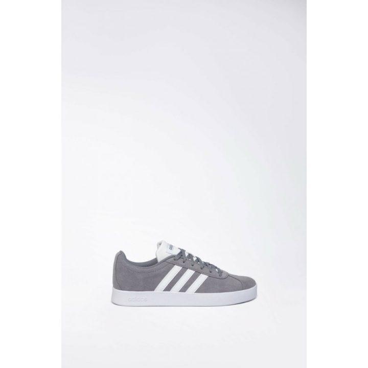 Adidas VL Court 2.0 K szürke utcai cipő