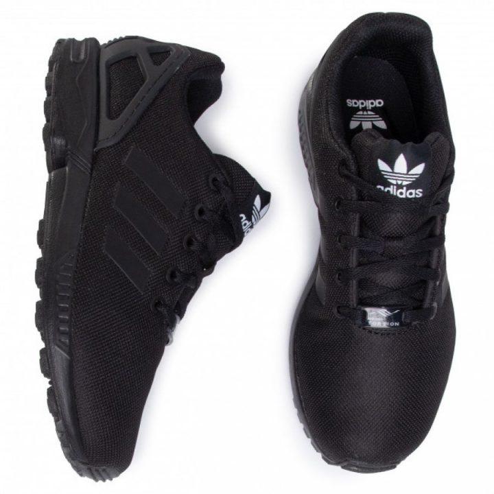 Adidas ZX FLUX J fekete utcai cipő