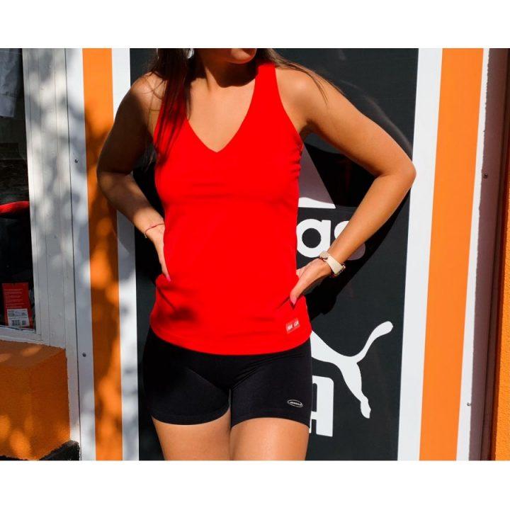 Nasca piros női trikó