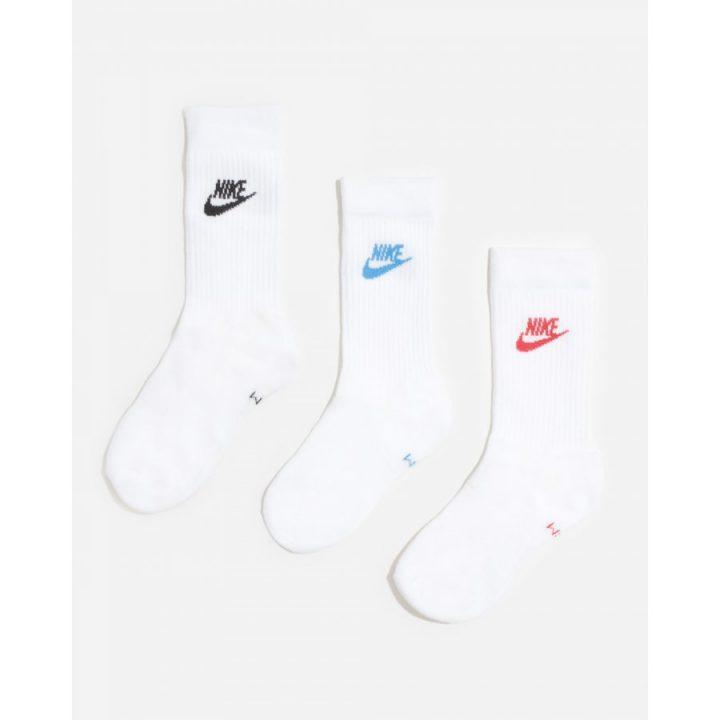 Nike 3 pár fehér zokni