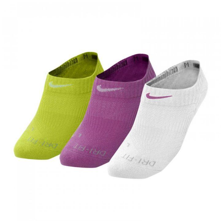 Nike 3 pár több színű női zokni