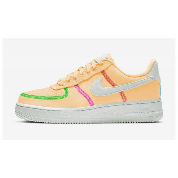 Nike Air Force 1 '07 LX narancs utcai cipő