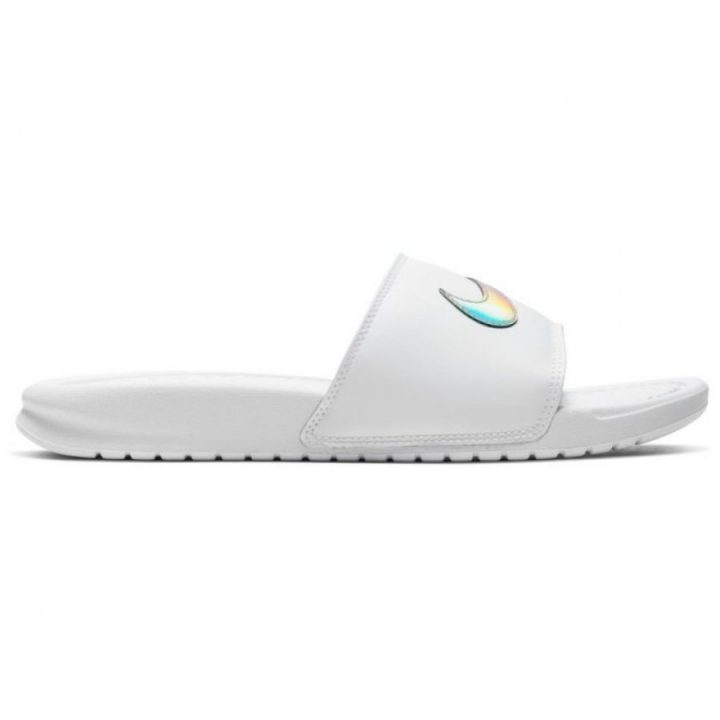 Nike Benassi Just Do It fehér női papucs