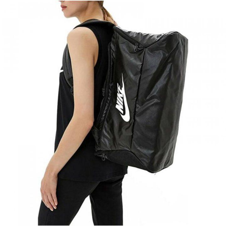 Nike Brasilia fekete táska