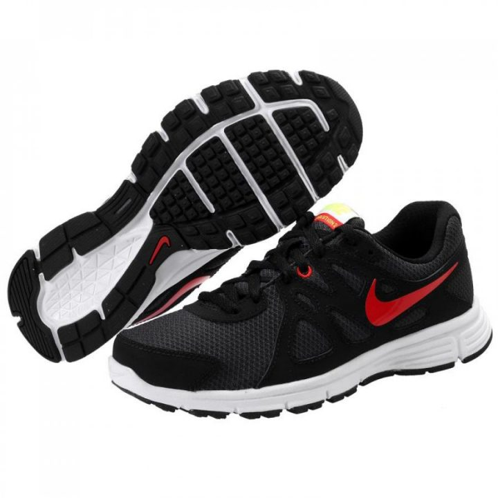 Nike fekete futócipő