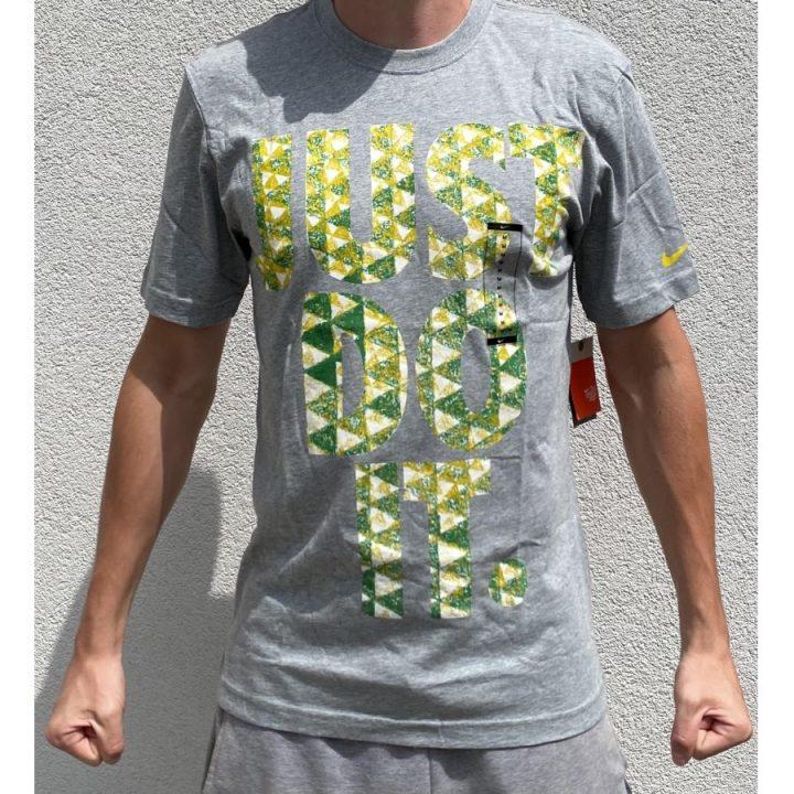 Nike JDI szürke férfi póló
