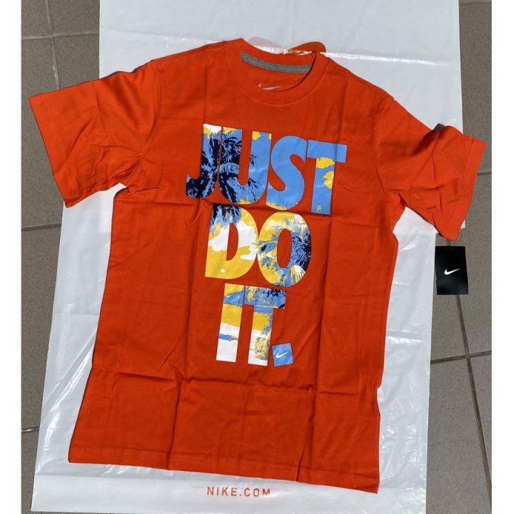 Nike Just Do It narancs póló