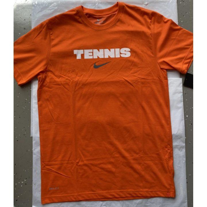 Nike narancs férfi póló