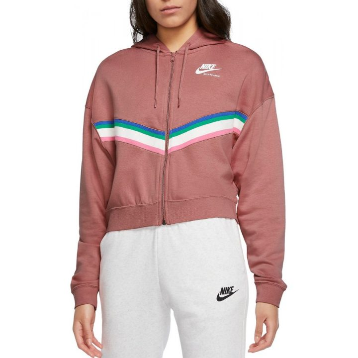 Nike NSW rózsaszín női pulóver