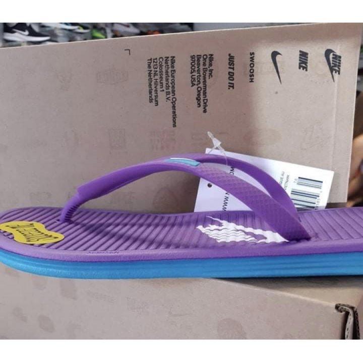 Nike Solarsoft Thong lila női papucs