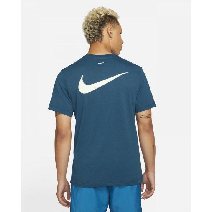 Nike Swoosh kék férfi póló