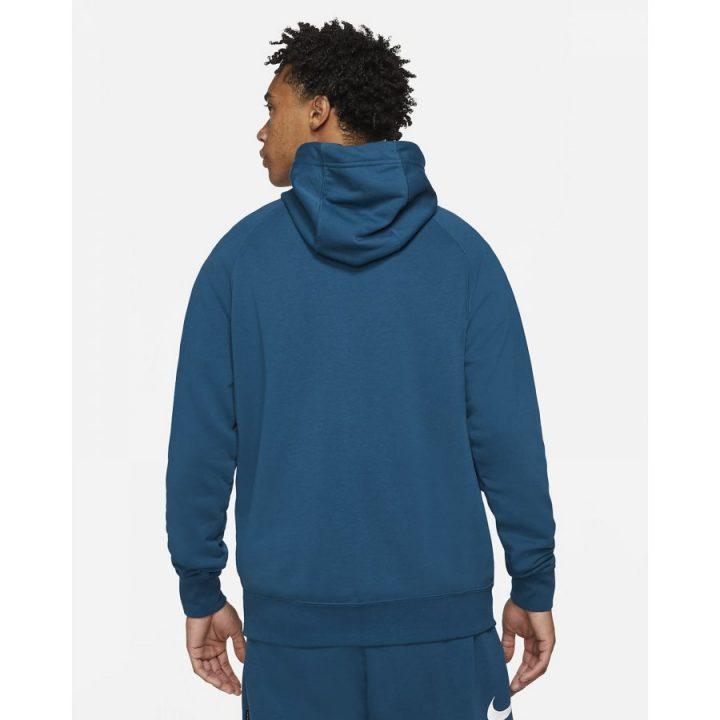 Nike Swoosh kék férfi pulóver